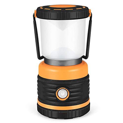 LEDランタン 電池式 【3色切替/明るさ1000ルーメン/実用点灯12時間】5つの点灯モード 無段階調光 アウトドア/応急/防災用品