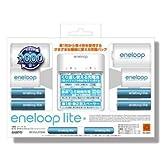 SANYO eneloop liteエネループライト 充電器・スペーサー・単3形・単4形ファミリーパック BC-KJL01Q42
