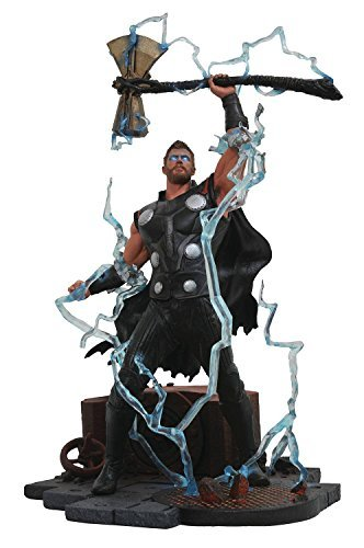 Diamond Select Toys Marvelギャラリー: Avengers infinity War Movie Thor PVC Diorama Figure