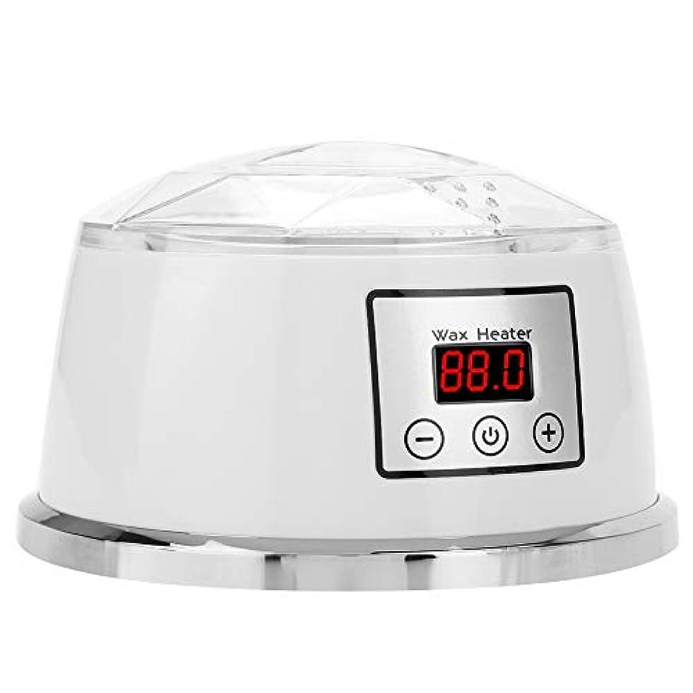 電気暖かいワックス機、ホーム温度制御ワックス豆加熱メルター多機能ウォーマー脱毛ワックス(USプラグ)