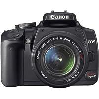 Canon デジタル一眼レフカメラ EOS Kiss デジタル X ダブルズームキット ブラック KISSDXB-WKIT
