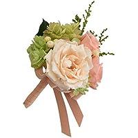 Merci la fleur プリザーブドフラワー コサージュ 完成品 Nature ナチュール ピーチ