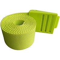 FLAMEER シュノーケリング ヘビーデューティー ウェイトベルト プラスチック バックル 耐久性 全4色