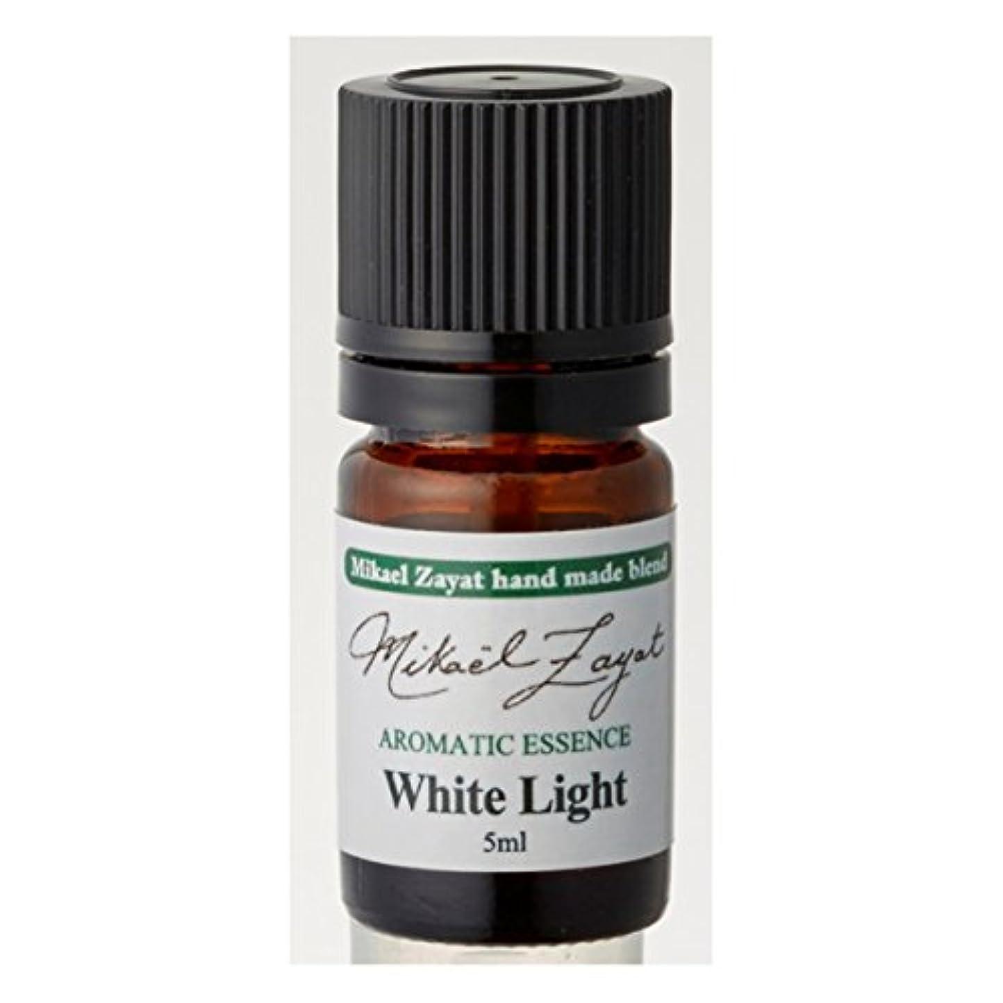 鋭く累積地震ミカエルザヤット ホワイトライト White Light 5ml/ Mikael Zayat hand made blend