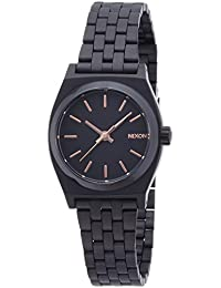 [ニクソン]NIXON SMALL TIME TELLER: ALL BLACK/ROSE GOLD NA399957-00 レディース 【正規輸入品】