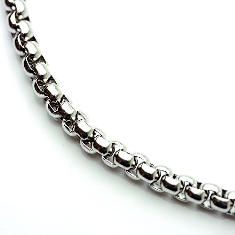 シルバーワン(Silver1) sa 意外とハード[幅5mm 長さ60cm他]ベネチアン チェーン ステンレス ネックレス メンズ