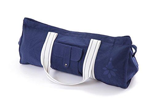 BE DAYS ヨガバッグ ヨガマットバッグ ヨガマットケース 大容量 旅行バッグ 特大サイズ トートバッグ スポーツ ボストンバッグ ブルー