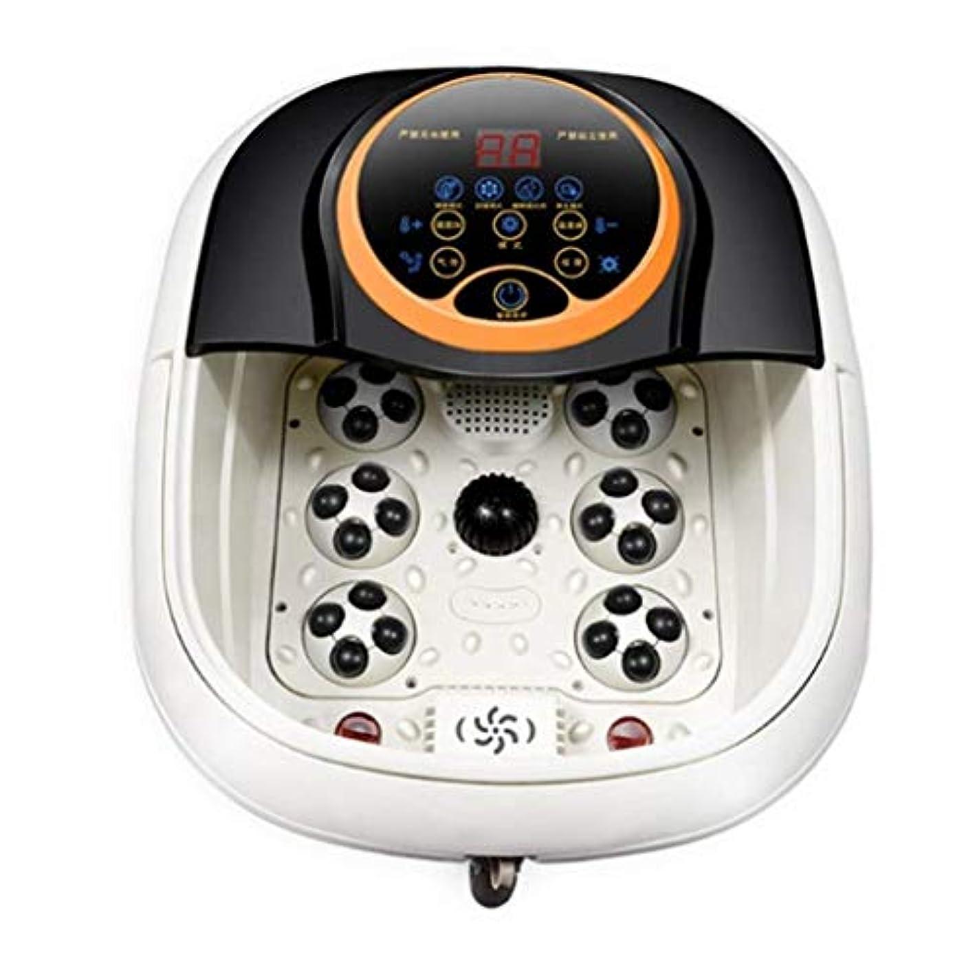 フットマッサージャー、電気加熱式フットマッサージバレルフットバスバレル、痛みの緩和、血液循環/睡眠の促進、ストレスの緩和、ホームオフィスでの使用