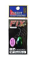 フォレスト(FOREST) スプーン フィックス マッチ 1.3g ジャックグリーン #7 ルアー