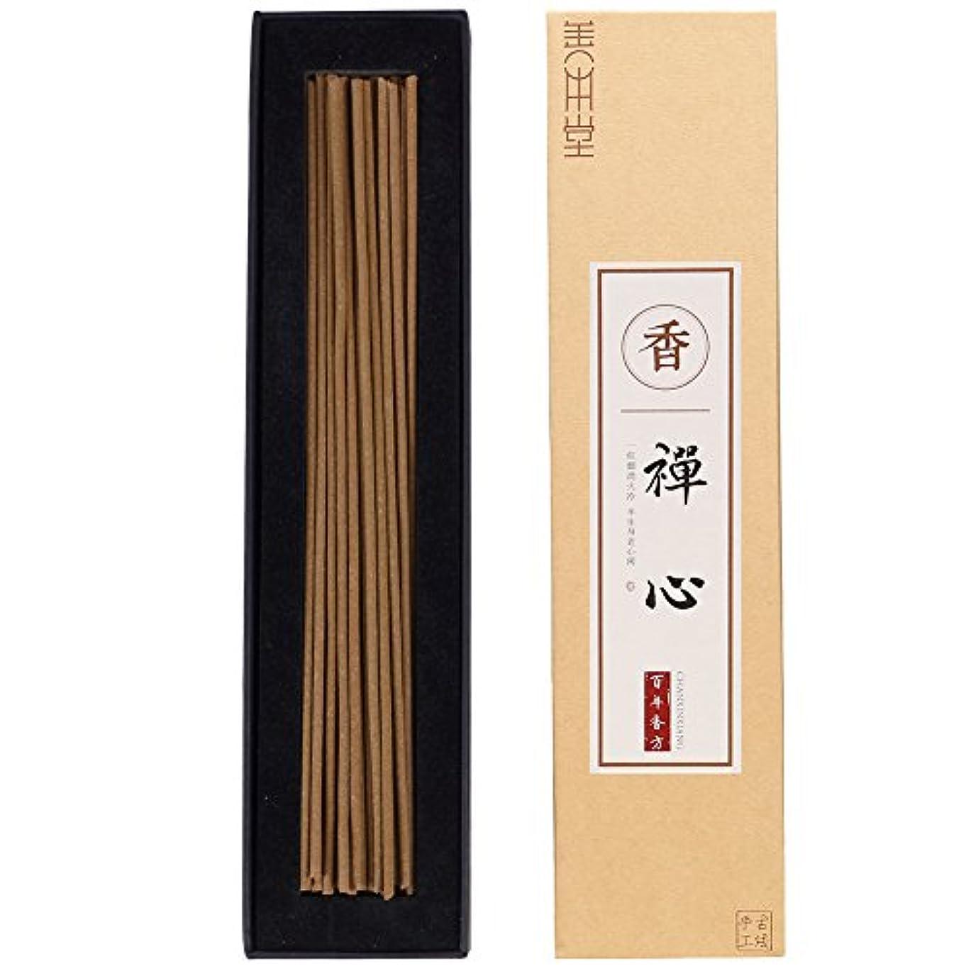 盲信毎回多様体善本堂天然の手作りお香 伝統技術作る 禅の心お香 養心安神のお香 お線香ギフト (21cm 50本入)