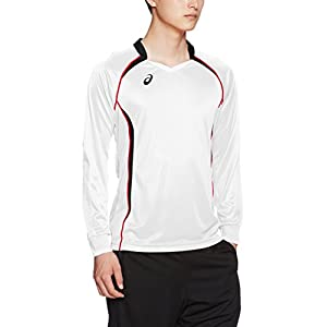 (アシックス)asics バレーボール長袖ゲームシャツ ゲームシャツLS XW1320