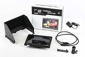 Feelworld FW759【国内正規品/1年保証/日本語説明書付】 一眼レフカメラ/ビデオカメラ用液晶モニター/7インチ HD IPS 1280×800 HDMI