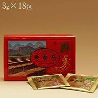 【6年根 高麗人蔘 寿参茶シリーズ】寿蔘茶ティーパック 3g×18包
