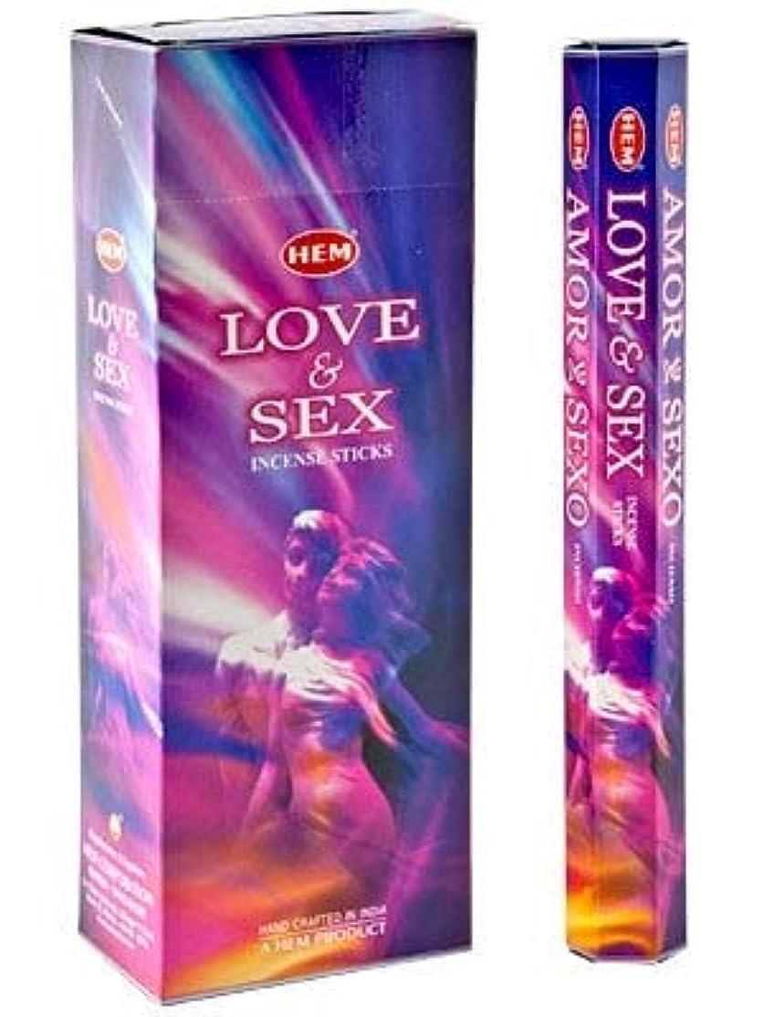 国民投票クライマックス証書Hem Love & Sex Incense 120 Sticks