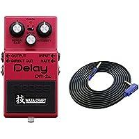 BOSS 技 WAZA CRAFT Delay DM-2W(J) + 3m ギターケーブル VOX VGS-30 セット