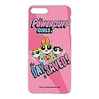 パワーパフガールズ iPhone7 Plus ケース クリア TPU プリント デザインE-C (ppg-023) スリム 薄型 WN-LC404592