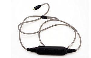 OKCSC DD4C Bluetooth ケーブル リケーブル ブルートゥース MMCX イヤホンケーブル 交換ケーブル 着脱式ケ ーブル 耳掛型 SE215 SE315 UE900 SE846 SE535 SE425に対応 マイク付き (for MMCX)