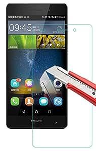 ShineZone Huawei Ascend P8 lite/LUMIERE 503HW 用強化ガラスフィルム 0.3mm 表面硬度9H ラウンド処理