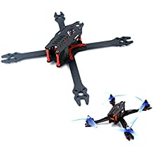 "usmile F2 Mito 210 210mm X Style Carbon Fiber Quadcopter Frame Kit FPV Racing Quad Drone with Quick Removable 4mm arm Suit for 5"" Props HS117 RunCam Swift Eagle 2 RunCam Sparrow"