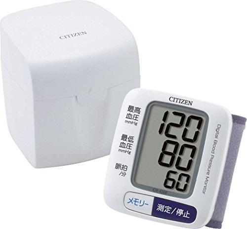 シチズン 電子血圧計  手首式  CH-650F