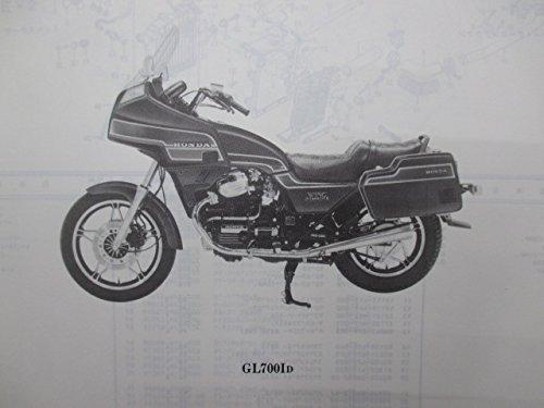 中古 ホンダ 正規 バイク 整備書 GL700 パーツリスト 1版 RC10 パーツカタログ 整備情報