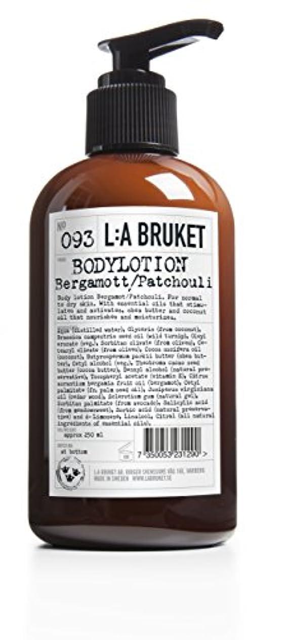 L:a Bruket (ラ ブルケット) ボディローション (ベルガモット?パチョリ) 250ml