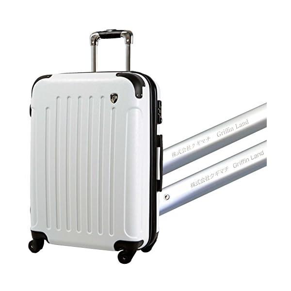 S型 ホワイト/newFK10371 スーツケ...の紹介画像5