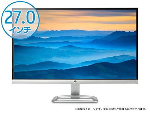 『HP 27erモニター (27インチワイド/フルHD/IPS/非光沢)』のトップ画像