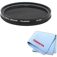 77mm PROシリーズmulti-coated高解像度偏光フィルタfor Nikon af-s Nikkor 24–70mm f / 2.8g Ed Autofocus Lens , Nikon af-s Nikkor 70–200mm f / 2.8g Ed Vr Iiレンズ、Nikon af-s Nikkor DX 18–300mm f / 3.5–5.6G ED VRレンズ、Nikon af-s Nikkor 28–300mm f / 3.5–5.6G ED VRズーム