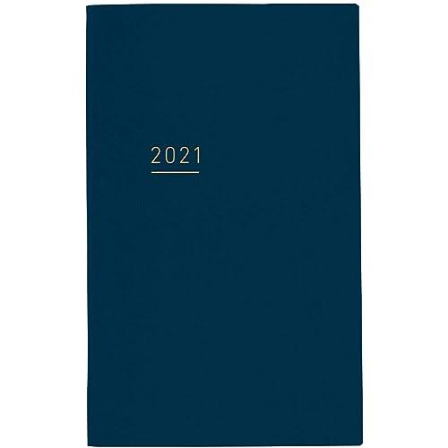 ジブン手帳 Lite mini 手帳 2021年 B6 スリム マンスリー&ウィークリー ネイビー ニ-JLM1DB-21 2020年 12月始まり