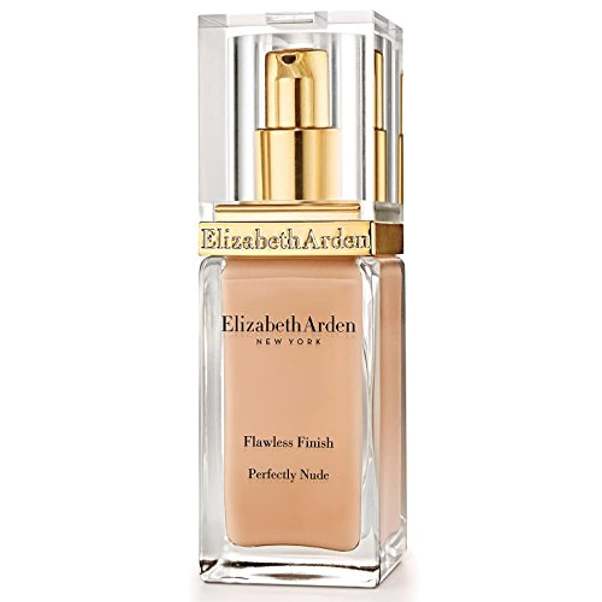 上へ故国豊富エリザベスアーデン完璧な仕上がり完璧ヌード基礎 15栗 x2 - Elizabeth Arden Flawless Finish Perfectly Nude Foundation SPF 15 Chestnut (Pack...