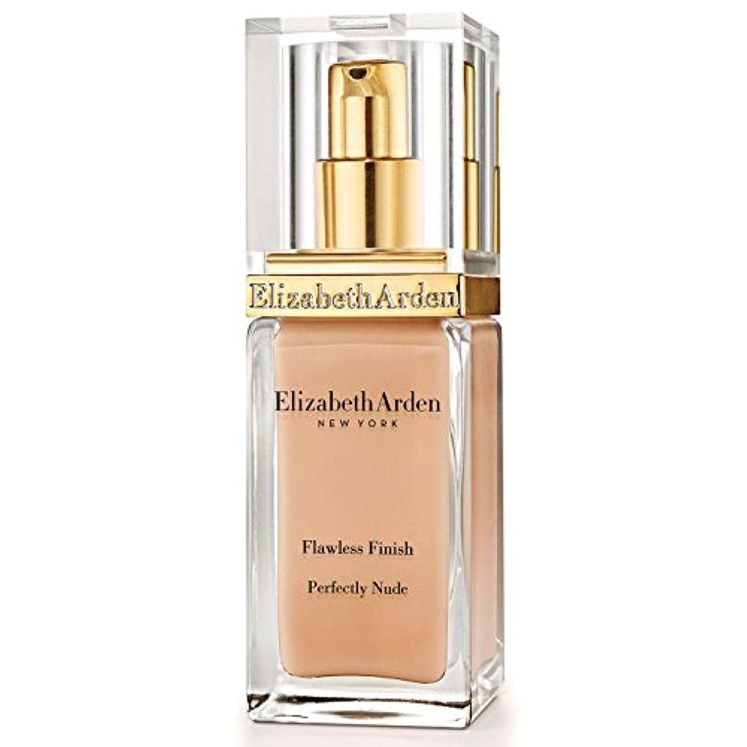 ラベンダー同様に始めるエリザベスアーデン完璧な仕上がり完璧ヌード基礎 15ヌード黄金 x4 - Elizabeth Arden Flawless Finish Perfectly Nude Foundation SPF 15 Golden Nude...