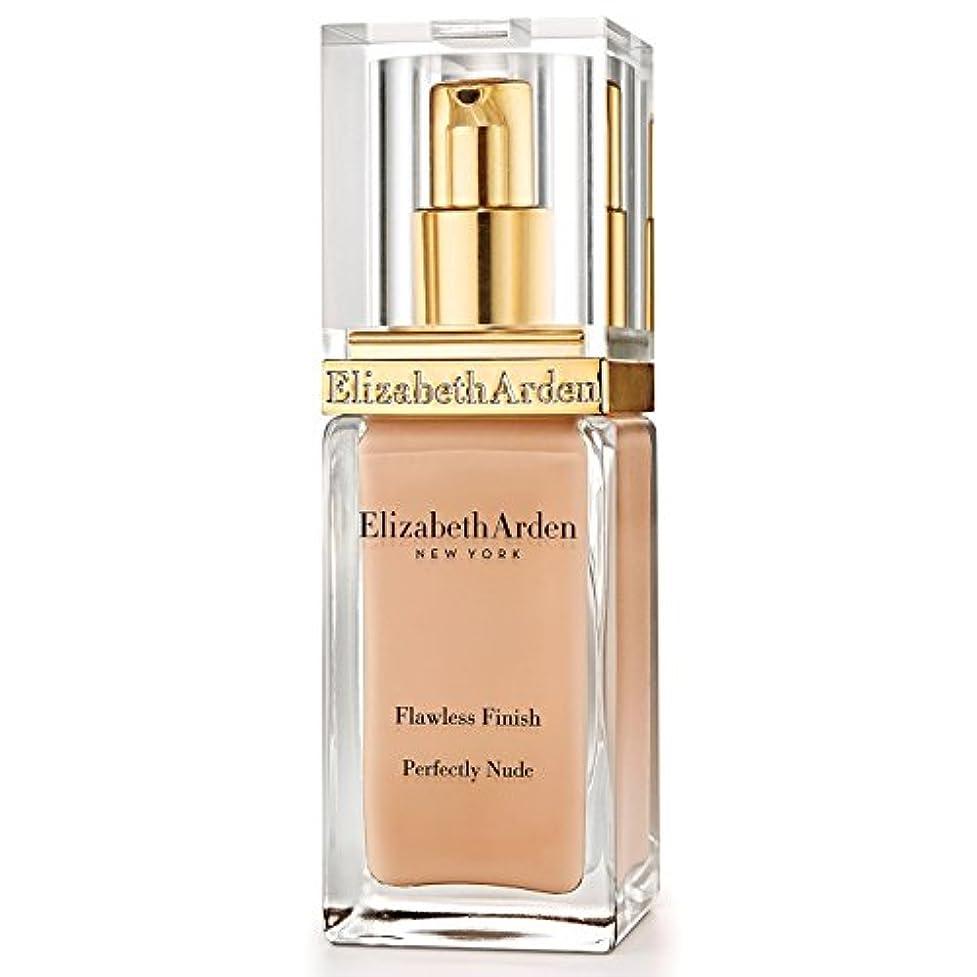 昇る潜在的な機械的Elizabeth Arden Flawless Finish Perfectly Nude Foundation SPF 15 Natural (Pack of 6) - エリザベスアーデン完璧な仕上がり完璧ヌード基礎...