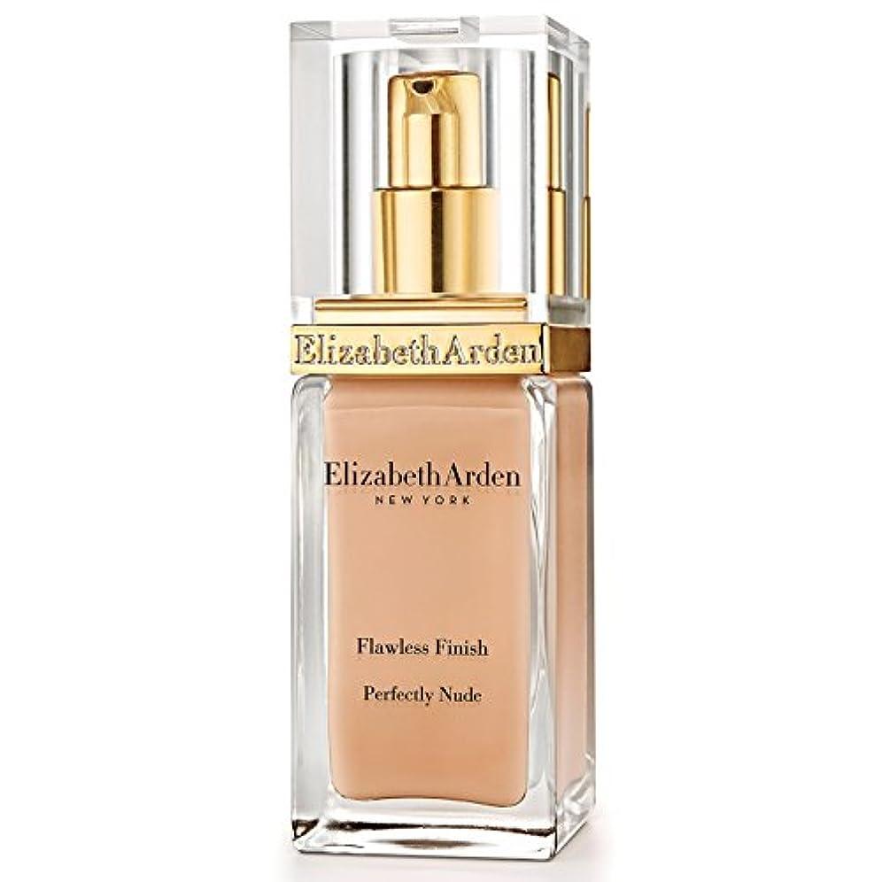 未接続対抗意識エリザベスアーデン完璧な仕上がり完璧ヌード基礎 15アンバー x4 - Elizabeth Arden Flawless Finish Perfectly Nude Foundation SPF 15 Amber (Pack...
