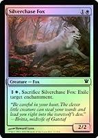 英語版フォイル イニストラード Innistrad ISD 銀筋毛の狐 Silverchase Fox マジック・ザ・ギャザリング mtg