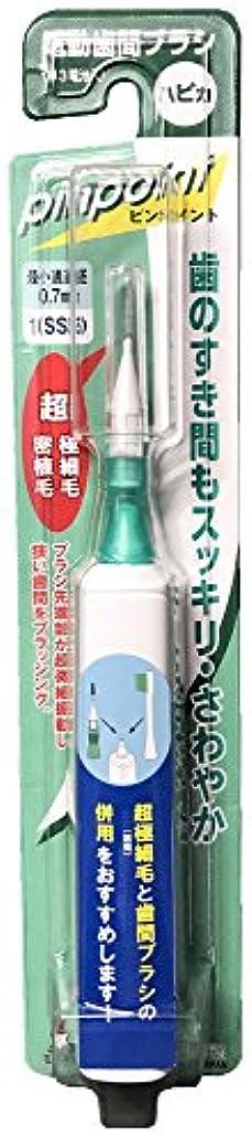 法的ウィスキー身元ミニマム 電動付歯間ブラシ ハピカ  ピンポイント 1(SSS) 0.7mm DBP-5W(BP)