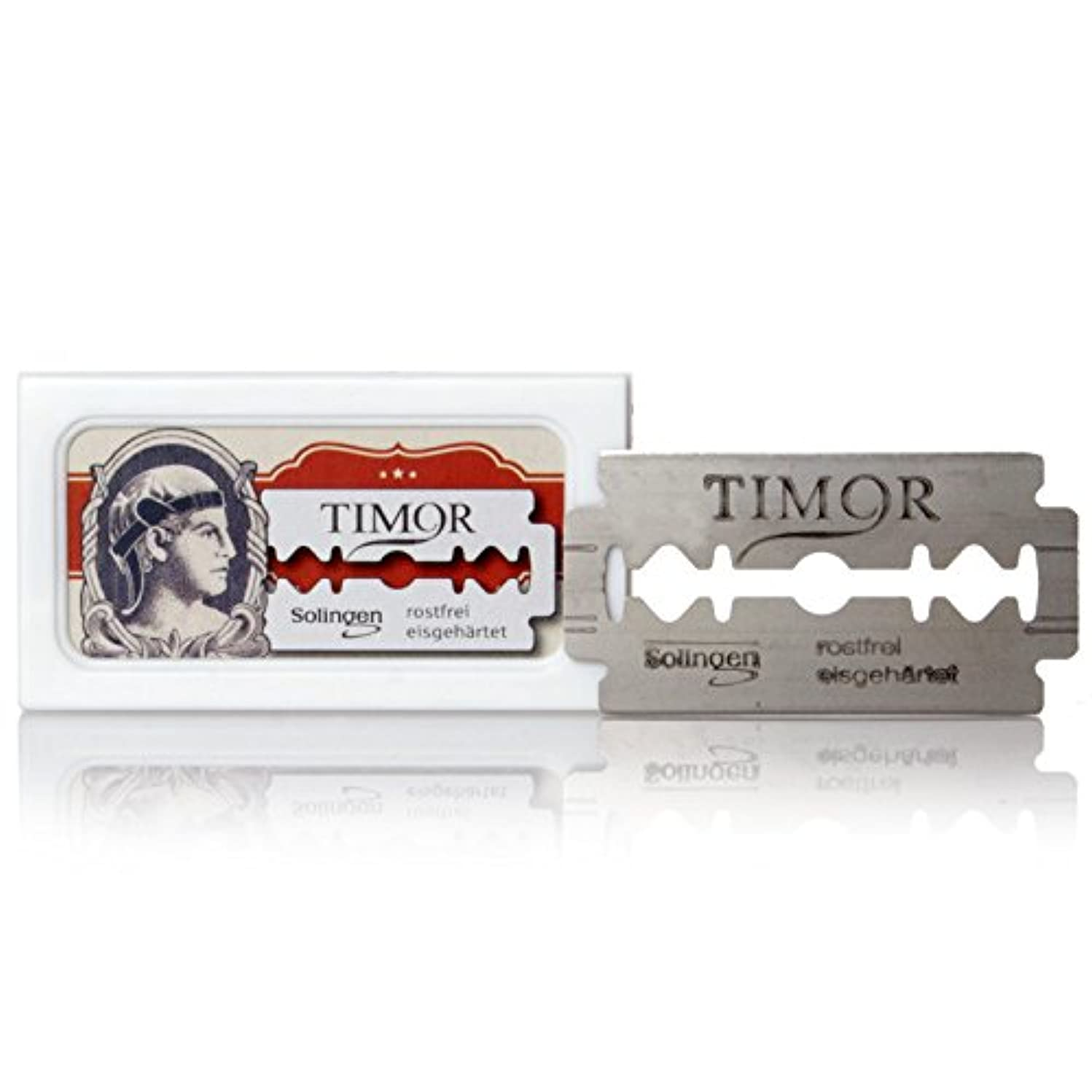 調整怒り座標Timor - razor blades, stainless, 10 pieces