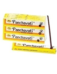 3 x 12ボックスPanchavati Dhoop/Inscense sticks-meditation and enlightenment-worship Temple