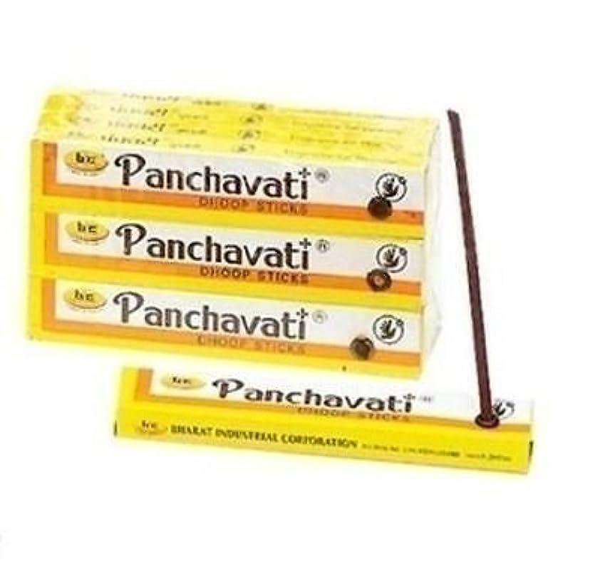 バケット安全性カイウス3 x 12ボックスPanchavati Dhoop/Inscense sticks-meditation and enlightenment-worship Temple