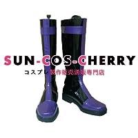 【サイズ選択可】コスプレ靴 ブーツ J-027 うたの☆プリンスさまっ♪ 一ノ瀬トキヤ ST☆RISH 女性24CM