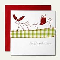 クリスマスカード by アーティスト 「サラ」 07 トナカイ B