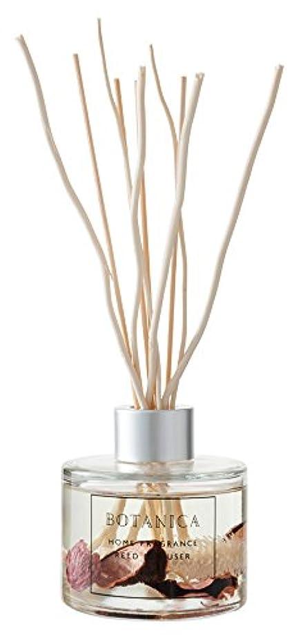 質素な小屋乳白BOTANICA リードディフューザー ピンク (スウィートローズ SWEET ROSE) PINK REED DIFFUSER ボタニカ old&new オールドアンドニュー