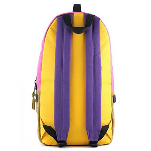 Supe Design Multicolor Day Backpack Pop Lemon md002 (Size os) [並行輸入品]