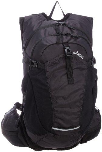 アシックス asics スポーツバッグ ランニングバックパック10 EBM402 9090 (ブラック/ブラック)