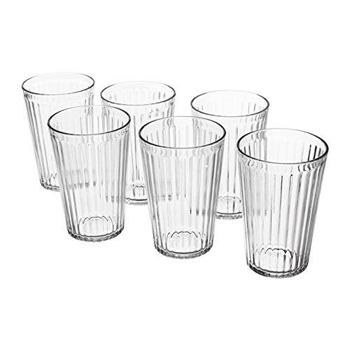 IKEA VARDAGENグラス 6個セット