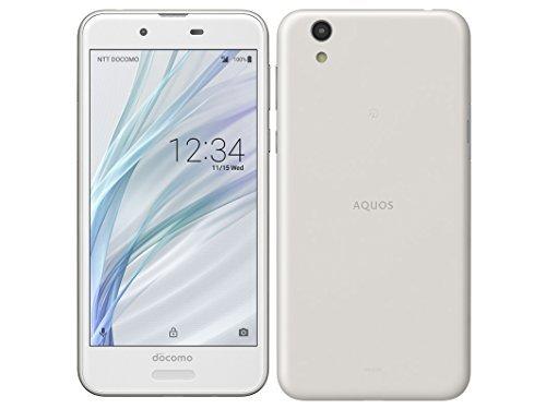 AQUOS sense SH-01K ホワイト 白ロム Silky White 白色 docomo