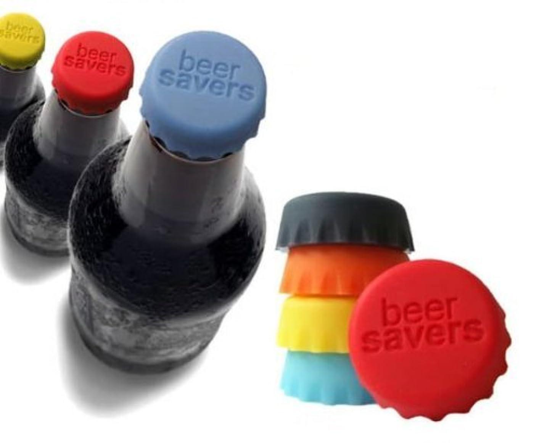 ペルセウス炭素形状Xiton ビールなどの炭酸抜け防止!! シリコンボトルキャップ (6個入)
