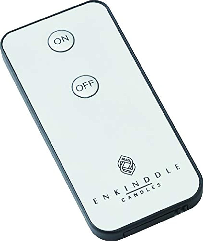 ペインギリック調子倫理エンキンドル 3D LEDキャンドル リモコン