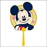 まんがキャラクターダイカットうちわ(10枚) ミッキーマウス 6989