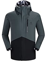 Kailasクロス万能Hardshell Jacket for旅行ハイキング最適and City